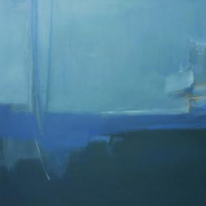 Le poème de la mer 65x60cm acrilico su tela