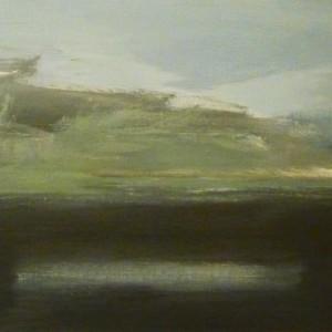 La tempesta - 2010 acrilico su tela  30x60 cm (Small)