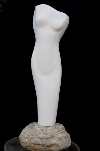 Venere di Thassos - marmo di Thassos cm 11x32,50x6,50 (Small)