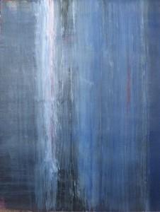 Flusso di coscienza, 2014 acrilico su carta cm 28x36