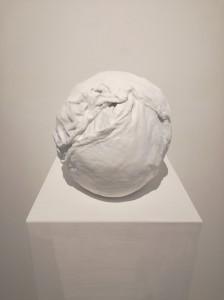 Matrice, 2019 gesso, stoffa cm 27x14x17