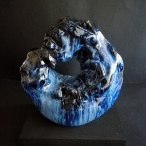 Ouroboros, 2019 ceramica cm 23x7x5
